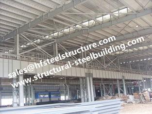 Chine Construction de construction Pré-machinée fabriquée d'atelier d'acier de construction fournisseur