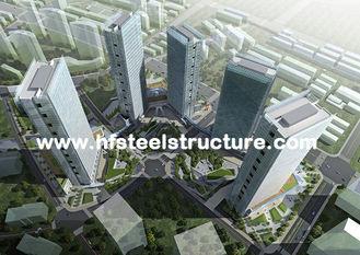 Chine Immersion dure et durable, chaude galvanisée, bâtiment en acier à plusiers étages imperméable industriel fournisseur