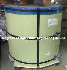 Chine Le polyester modifié par silicone SMP a enduit la bobine d'une première couche de peinture en acier pour le toit de mur de construction fournisseur