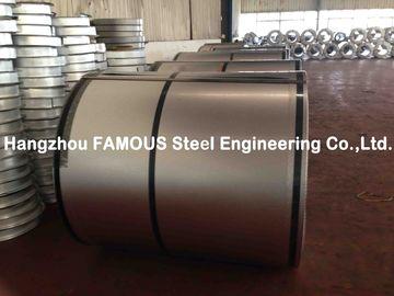 Bobine en acier galvanisée ridée par ASTM de tôle d'acier pour l'entrepôt